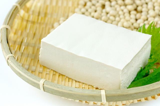 鍋の具豆腐